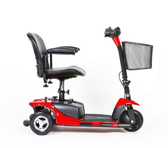 cadeira de rodas modelo pocket lado